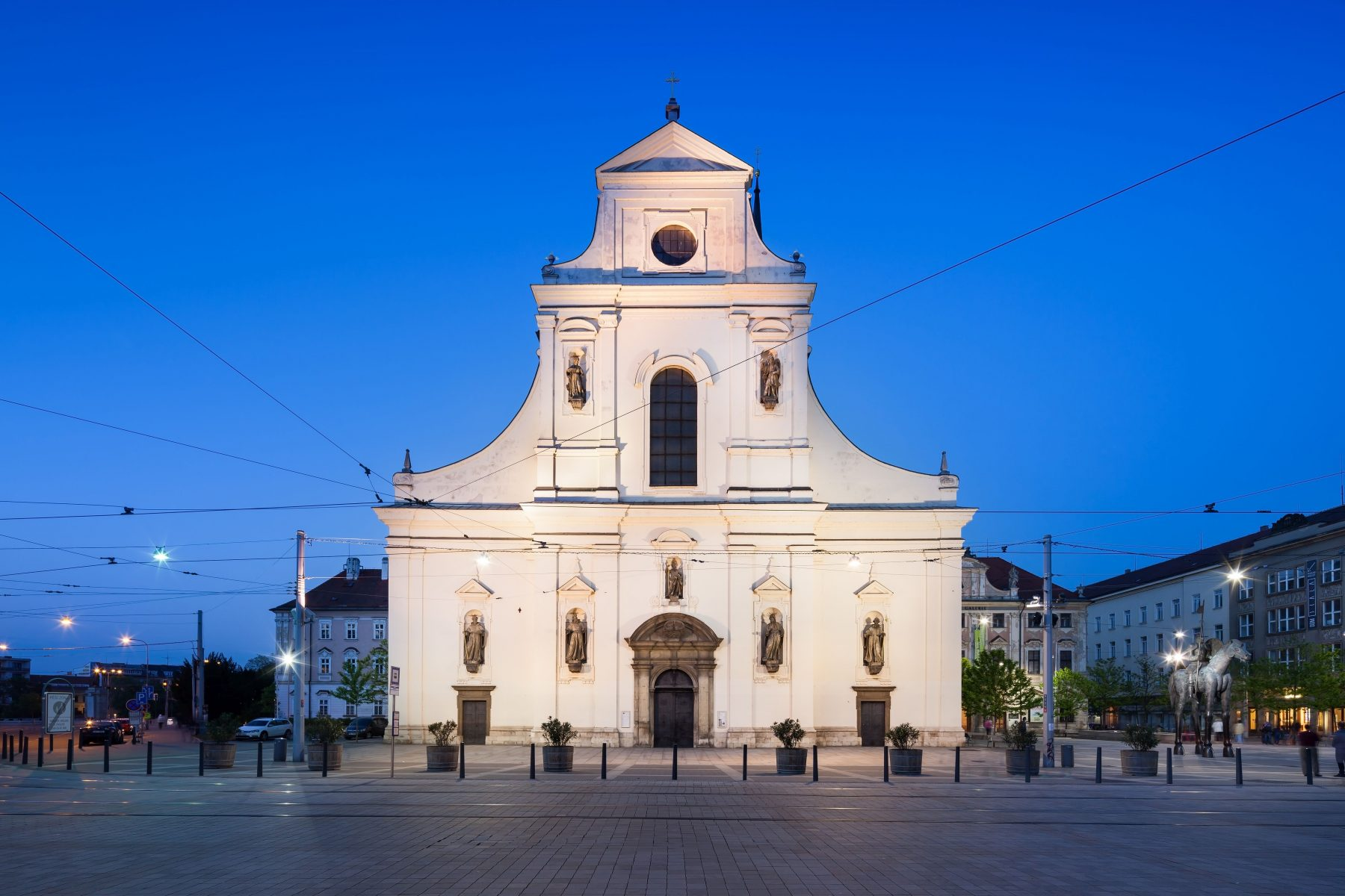 St. Thomas church in Brno
