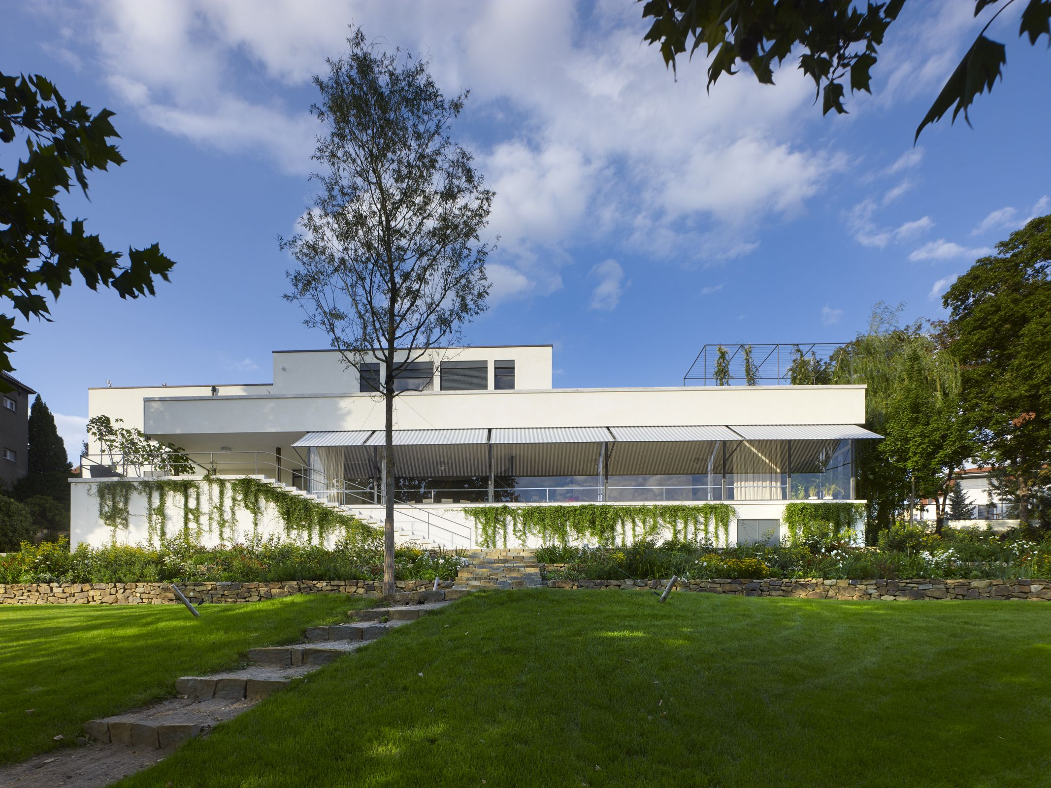 A functionalist Tugendhat Villa in Brno