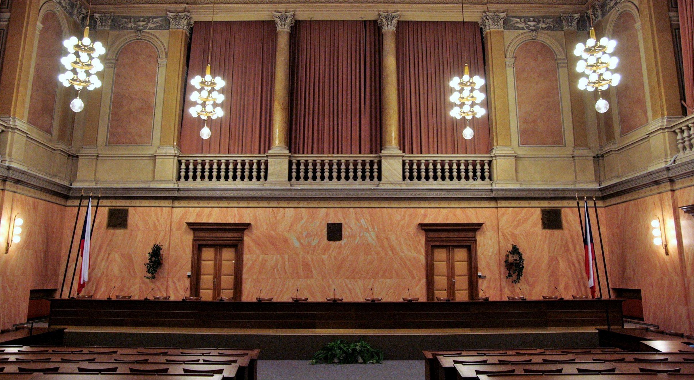 Landtagsgebäude, heute Verfassungsgericht der Tschechischen Republik (Ústavní soud ČR)