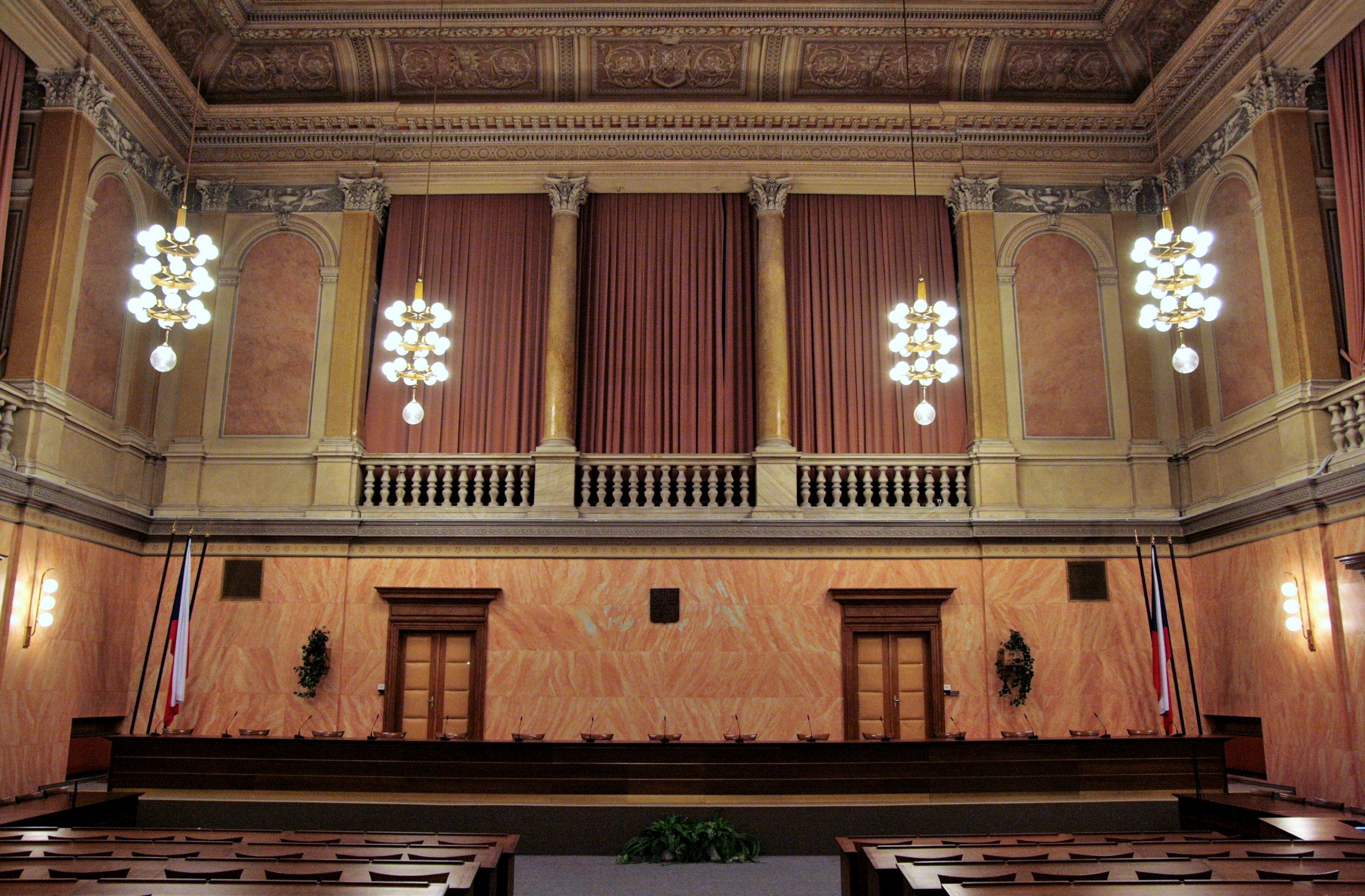 Moravian Assembly, now the Constitutional Court of the Czech Republic in Brno