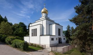 Orthodox Church of St Wenceslas (Pravoslavný chrám sv. Václava) in Brno