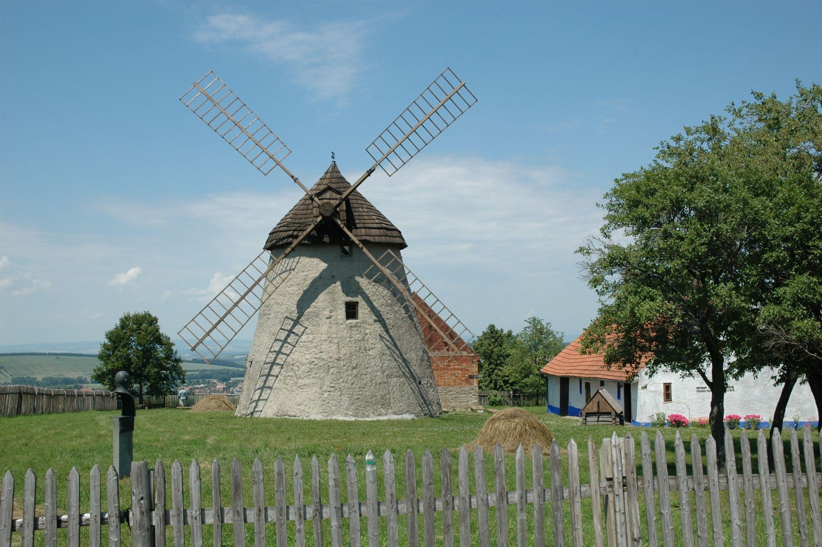 Technical Museum in Brno (Technické muzeum v Brně) - Větrný mlýn v Kuželově