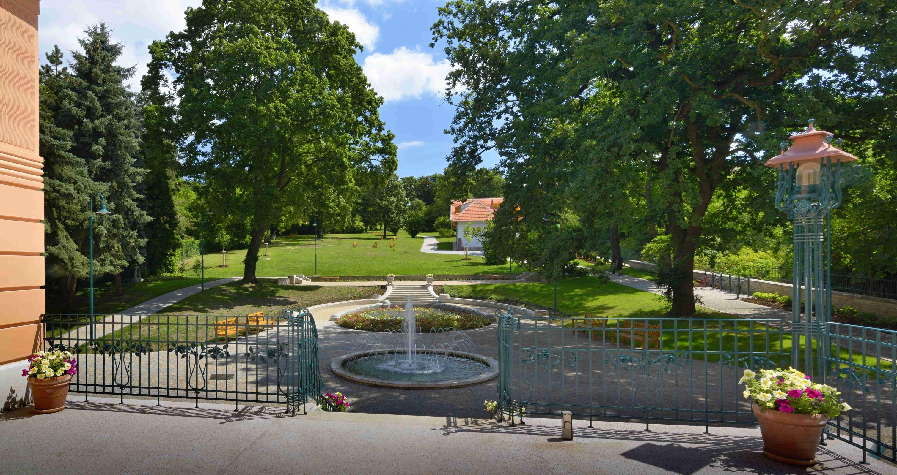 Löw-Beer Villa - garden in Brno
