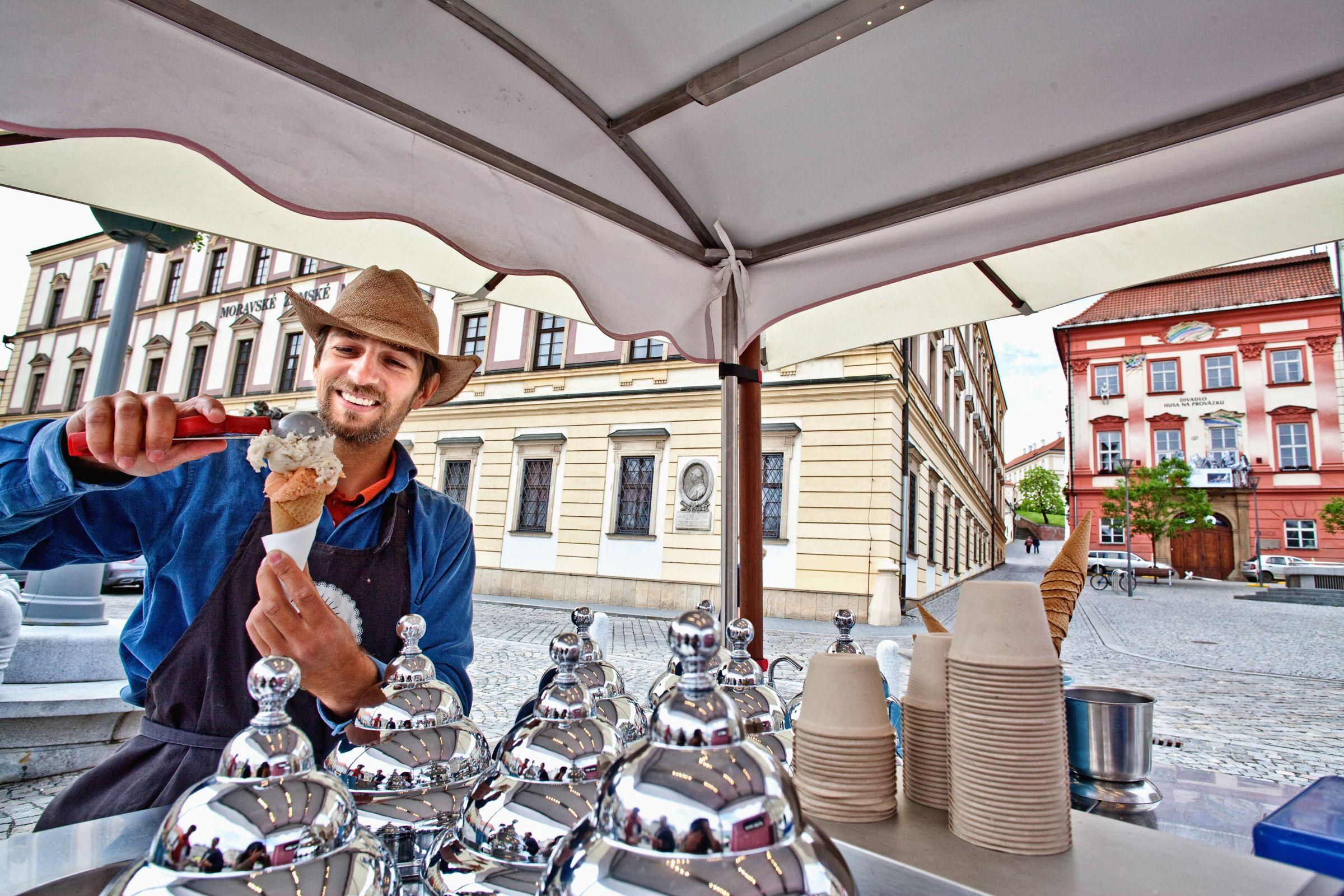 Zelný trh (Vegetable Market) in Brno