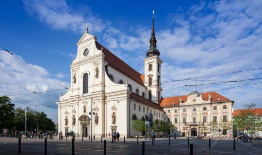 Kostel sv. Tomáše v Brně na Moravském náměstí
