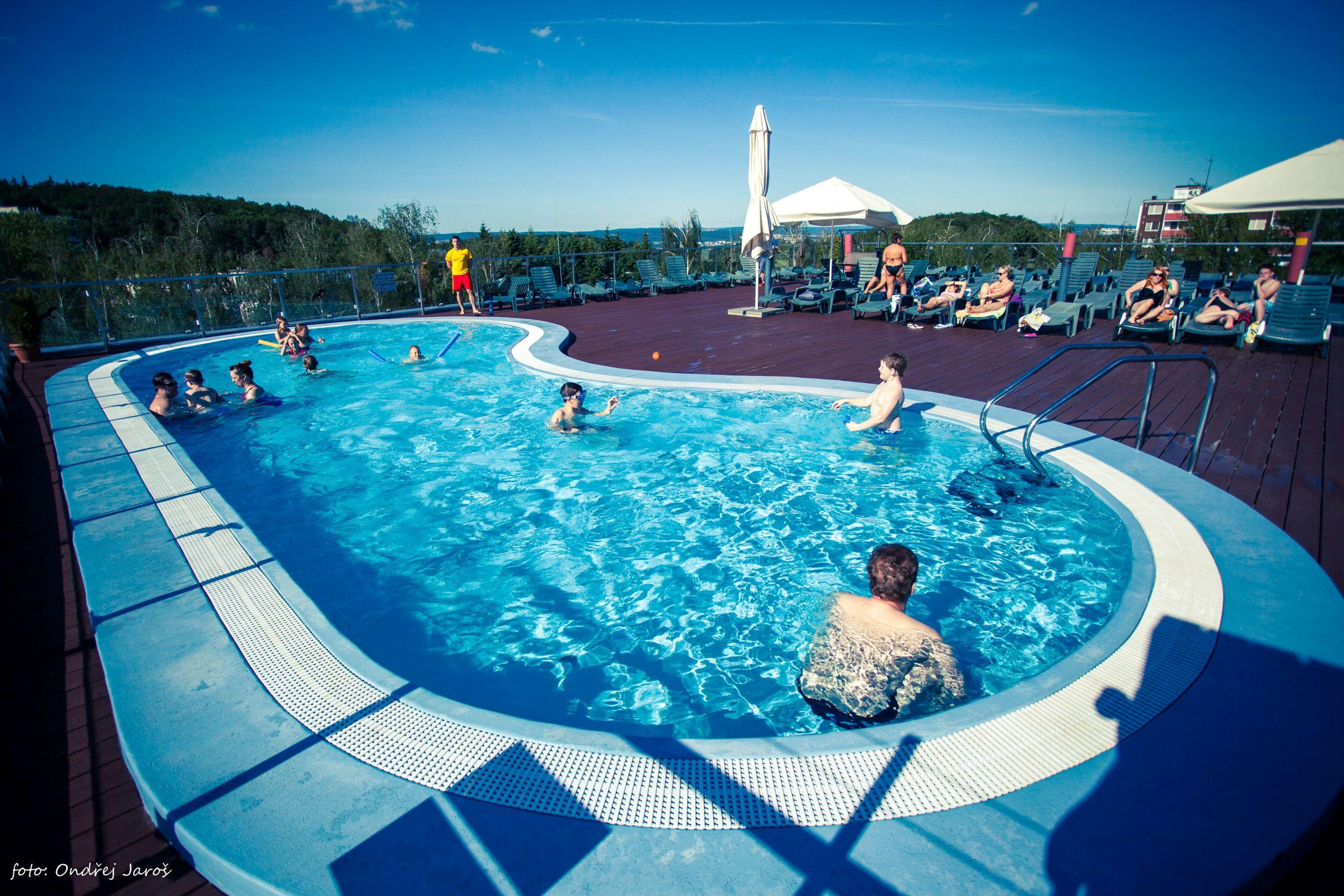 Kohoutovice Waterpark in Brno