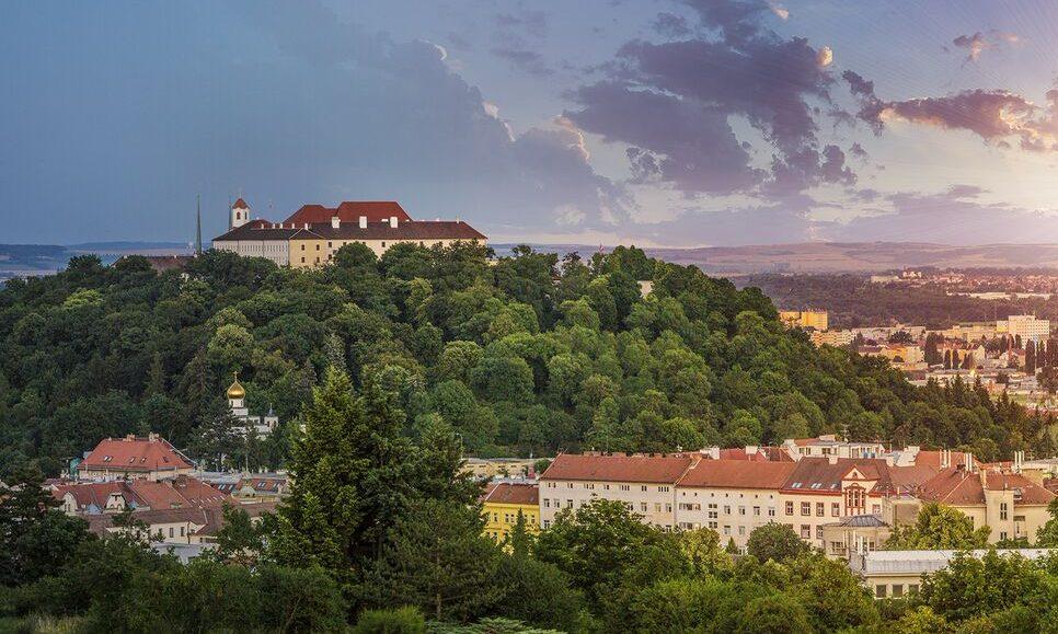 Brno panorama Špilberk