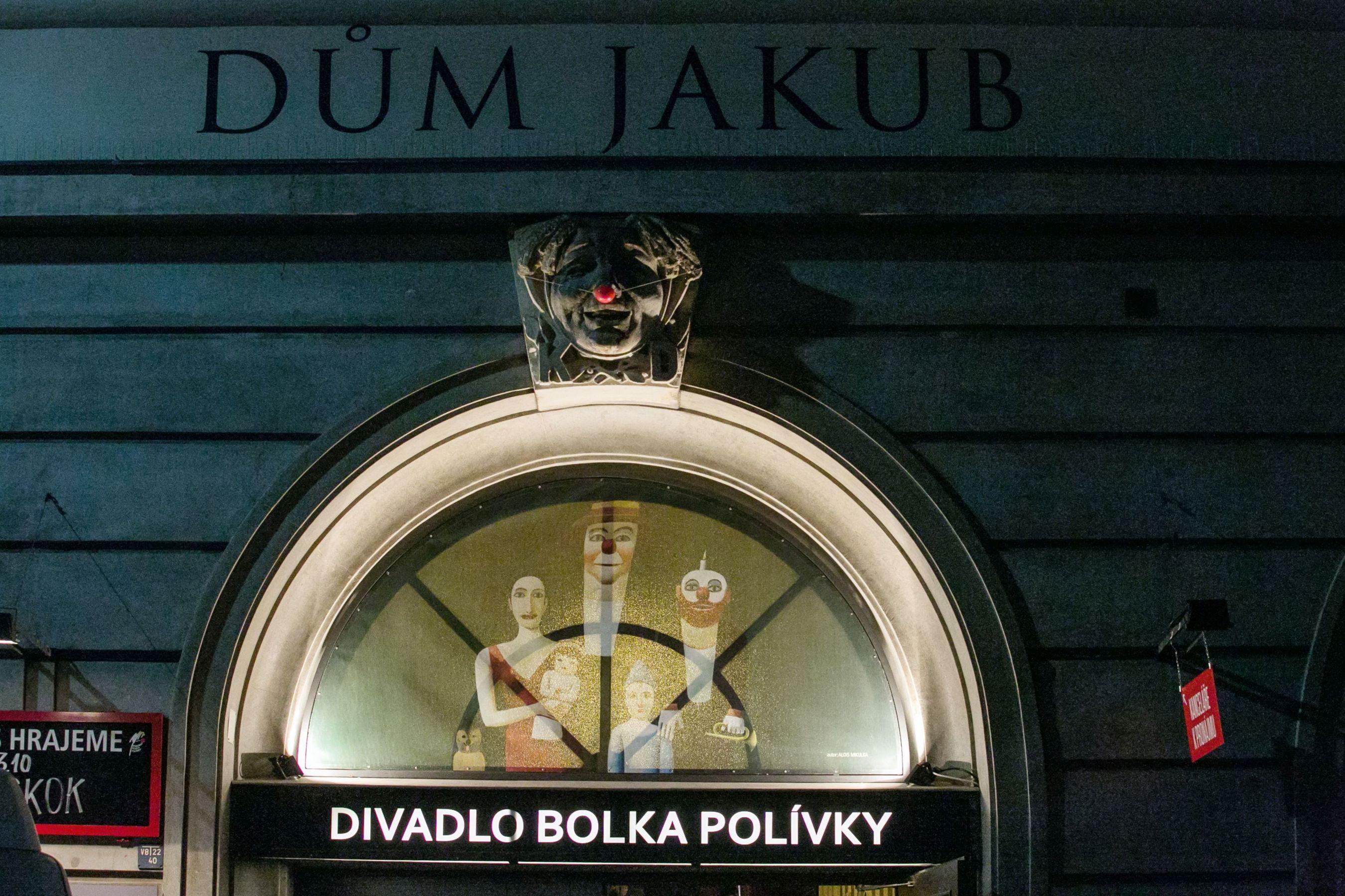 Bolek Polívka Theatre (Divadlo Bolka Polívky) in Brno