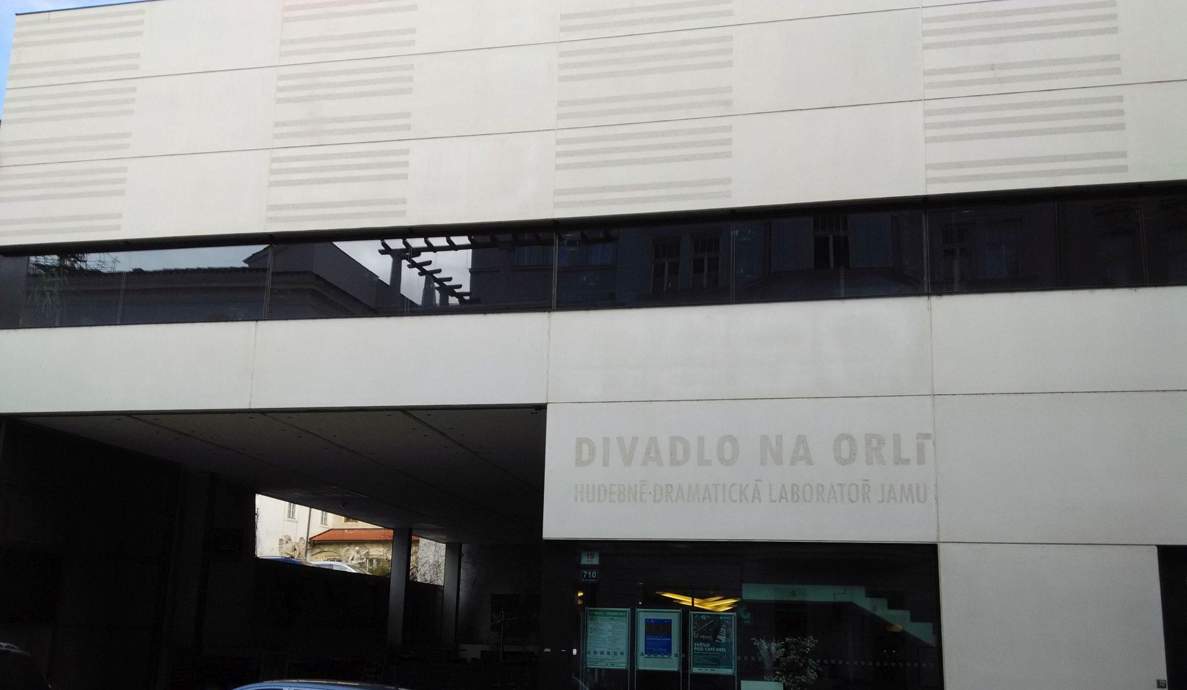Orlí Street Theatre (Divadlo na Orlí) in Brno