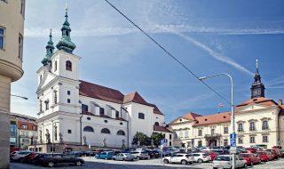 Dominikánské square in Brno