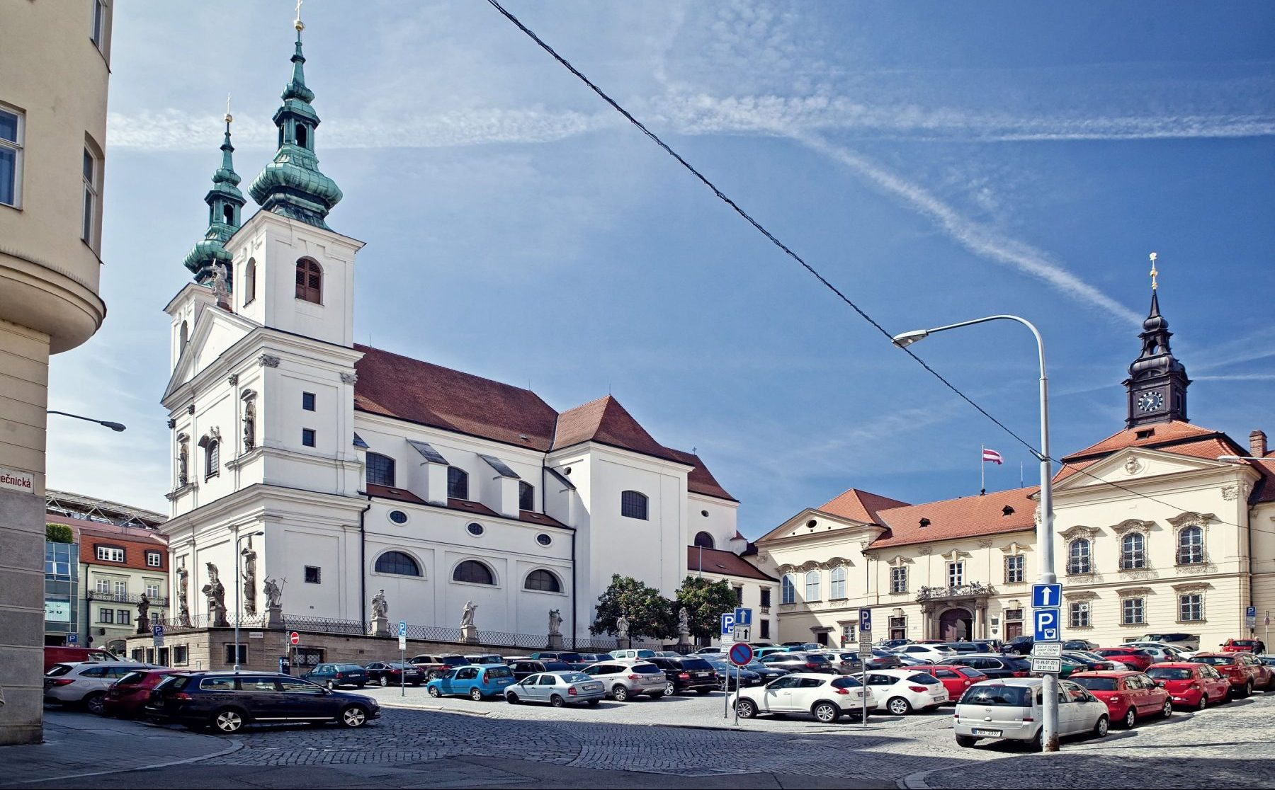 Dominikánské náměstí v Brně