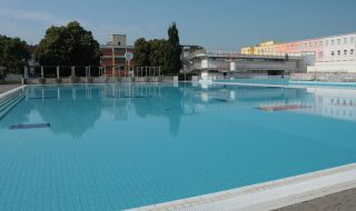 Zábrdovice swimming pool in Brno