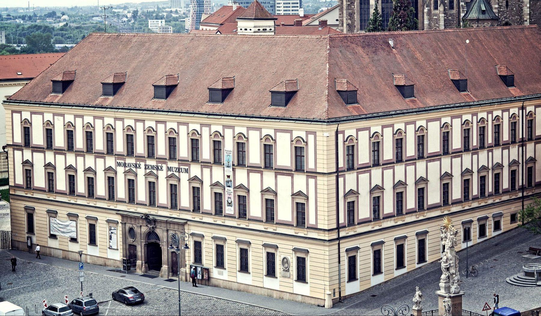 Moravian Museum (Moravské zemské muzeum) in Brno