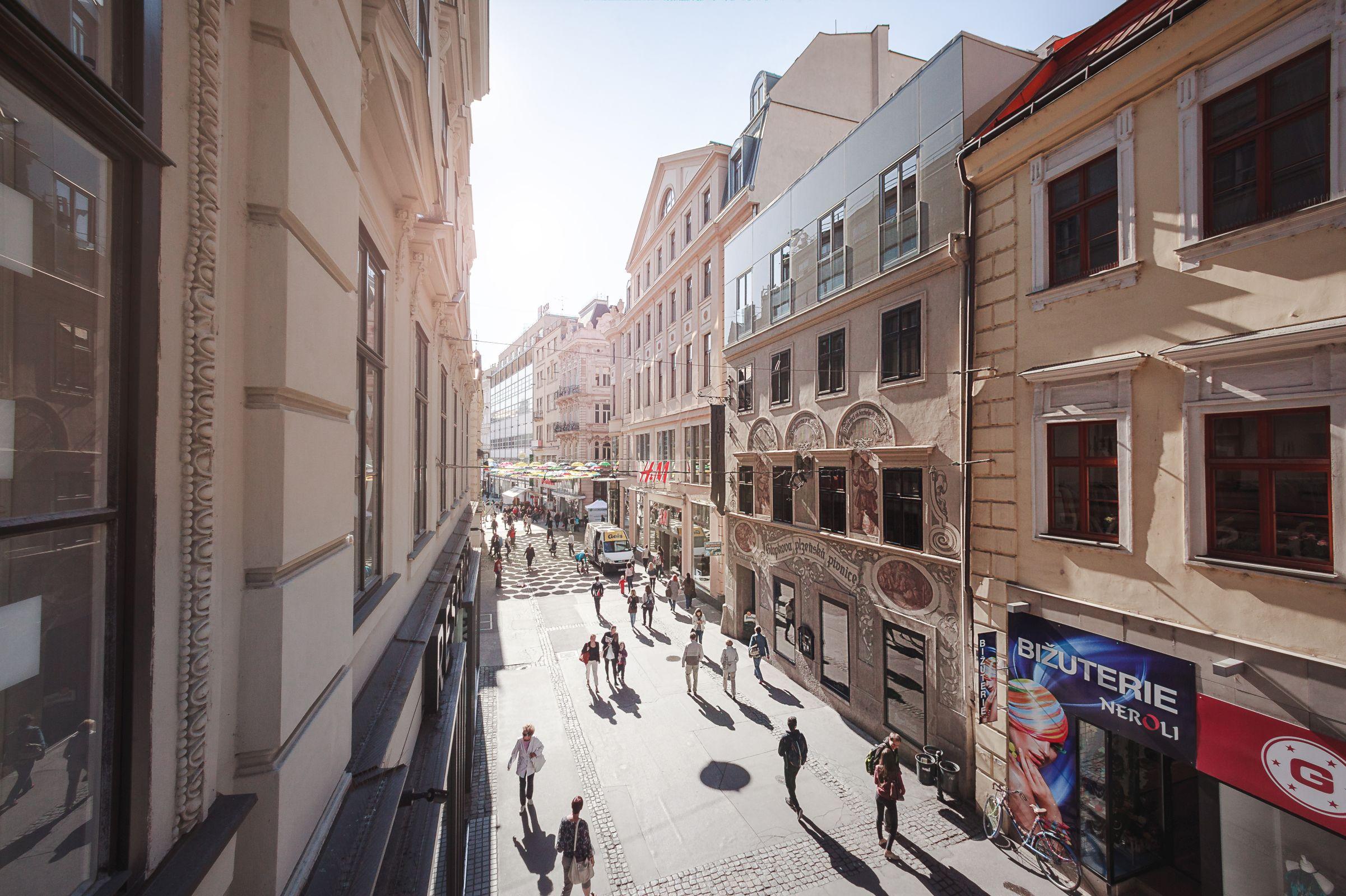 Česká street in Brno