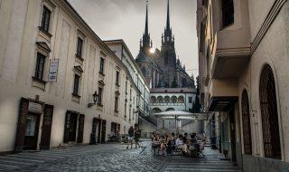Capuchin Square (Kapucínské náměstí)in Brno - Cathedral of Saints Peter and Paul