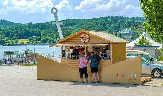 Golden Ship (Zlatá loď) Information Centre in Brno