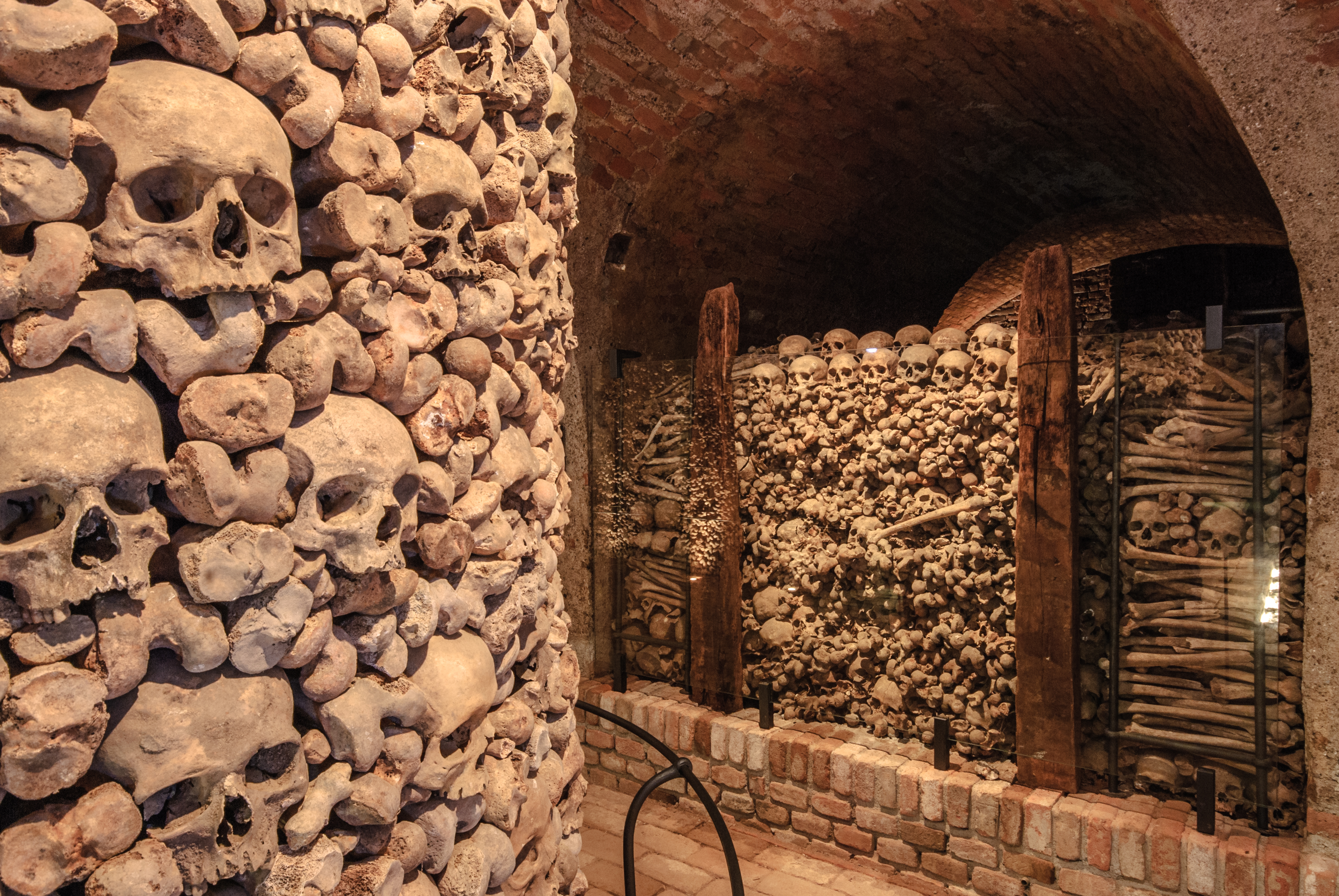 Ossuary at the Church of St. James in Brno