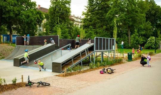 Lužánky Park in Brno, Jan Cága