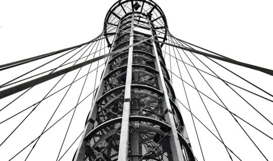 Aussichtsturm Holedná, Autor: Marie Schmerková