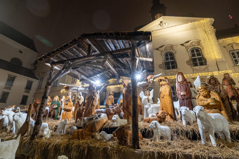Brněnské Vánoce 2018 - Betlém na Dominikánském nám
