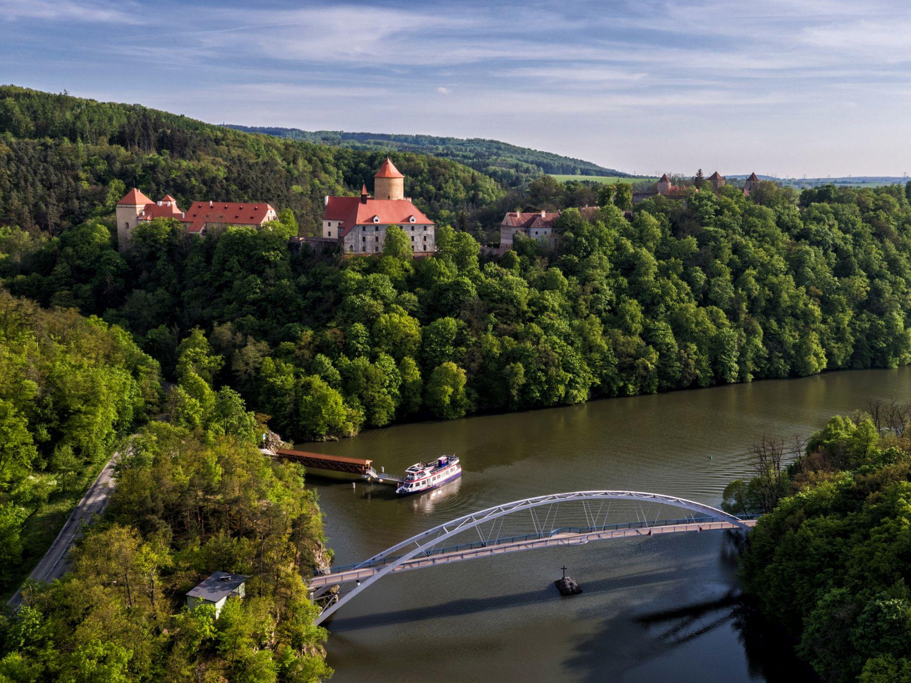 Burg Veveří (Hrad Veveří) in Brünn