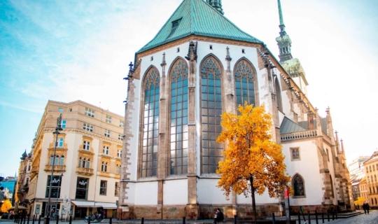 Jakobsplatz und St.-Jakobs-Kirche, Autor: Františka Uřičářová