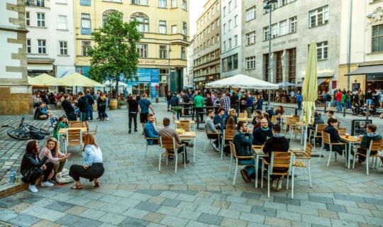 St James' Square (Jakubské náměstí), photo: Jan Cága