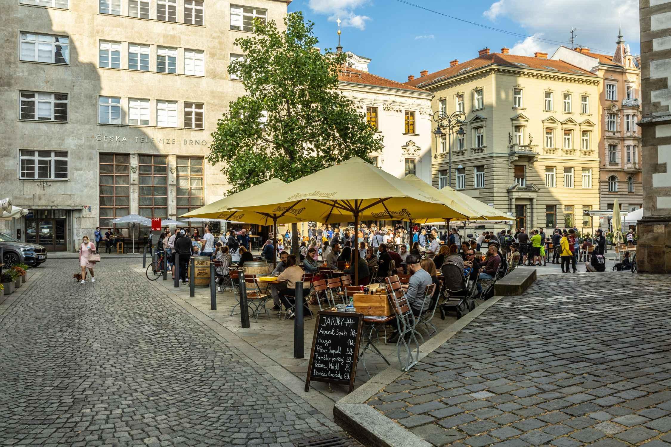 Jakobsplatz in Brünn, Autor: Jan Cága.