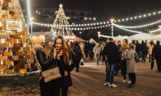 Vánoce_Brno_Moravské nám Advent