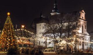 Moravské náměstí Vánoce v Brně, adventní trhy