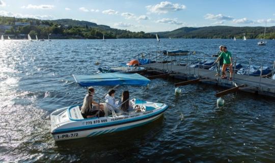Brněnská přehrada, Jan Cága