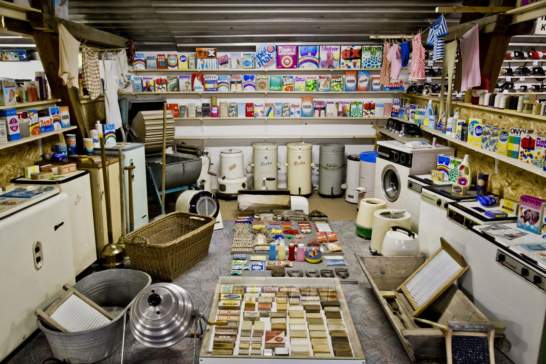 Retro Museum on a Farm (Retro muzeum na statku)