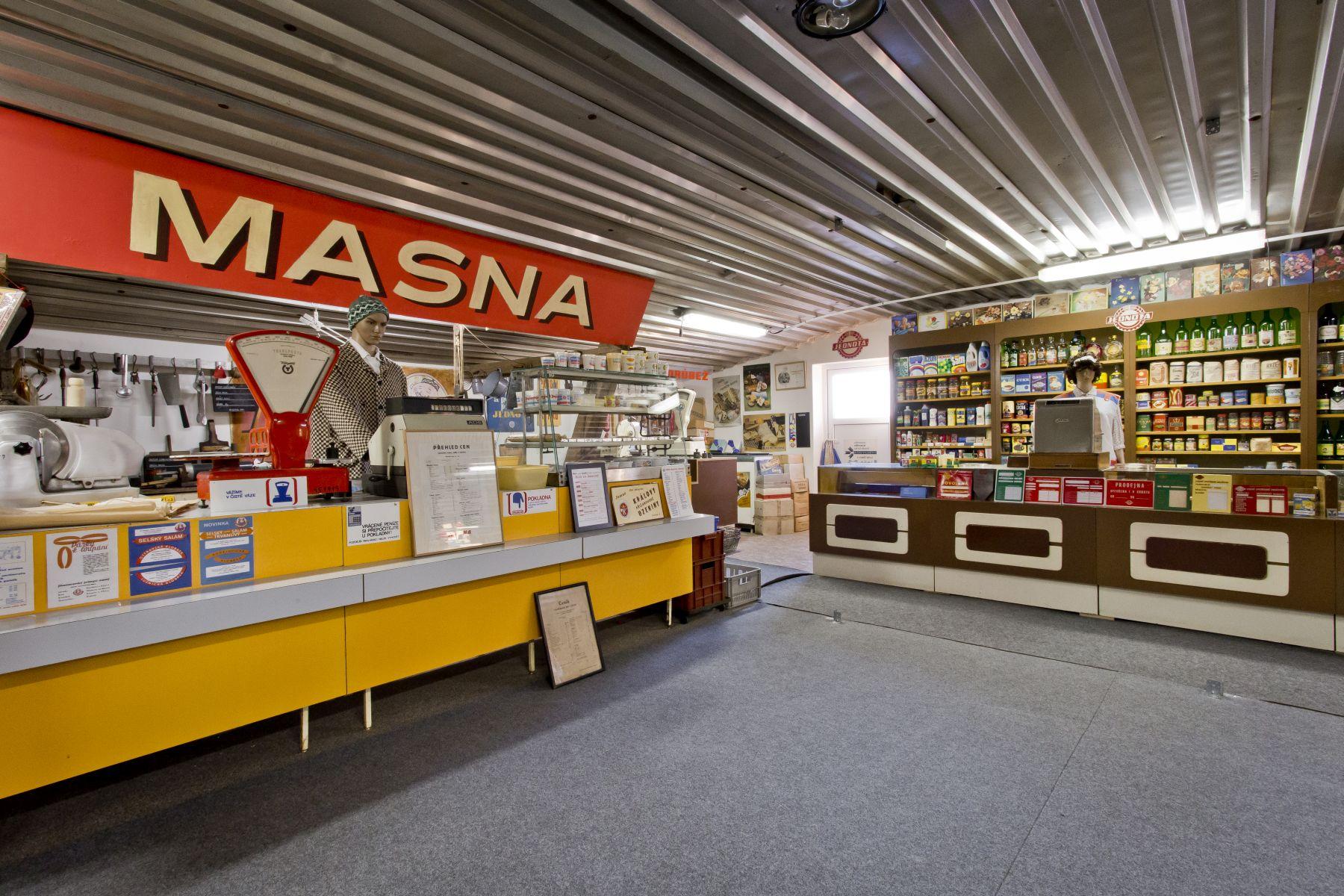 Retro-Museum auf dem Bauernhof