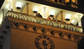 Stará radnice věž Vánoce Brno