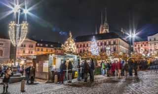 Advent na Zelňáku - Vánoční trhy na Zelném trhu v Brně, foto: Pavel Gabzdyl