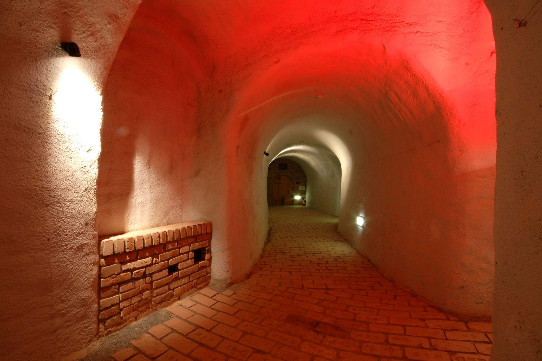 Labyrinth unter dem Krautmarkt in Brünn