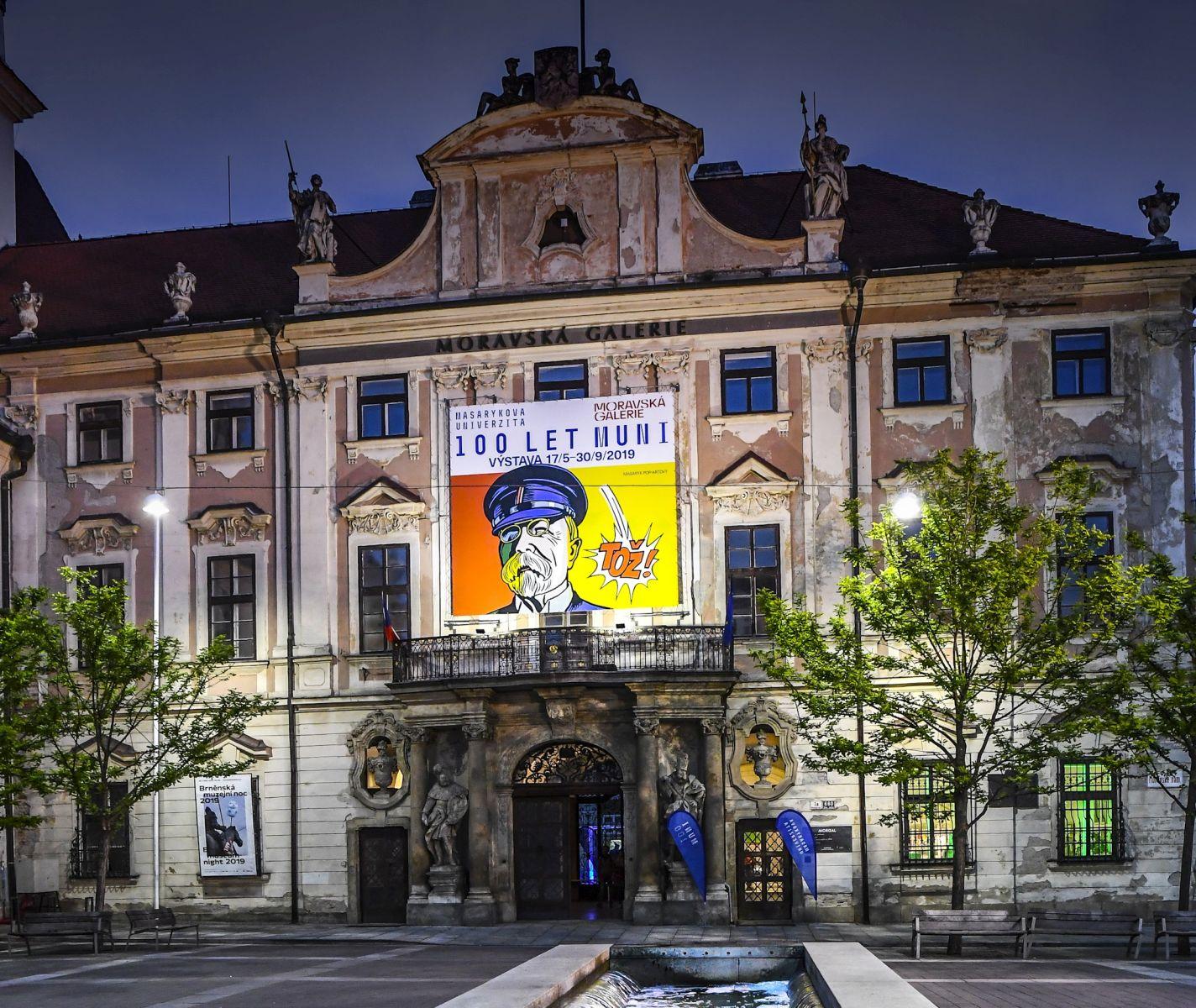 Moravian Gallery in Brno: The Governor's Palace (Moravská galerie v Brně: Místodržitelský palác)