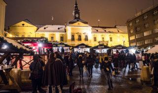 Brněnské Vánoce - Dominikánské náměstí v Brně