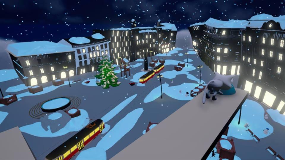 Virtual reality , Brno Christmas in Brno