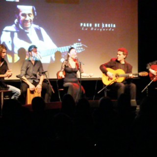 Concert to honor of Paco de Lucia