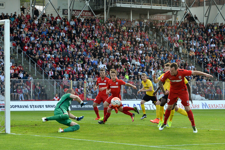 Městský fotbalový stadion Srbská v Brně