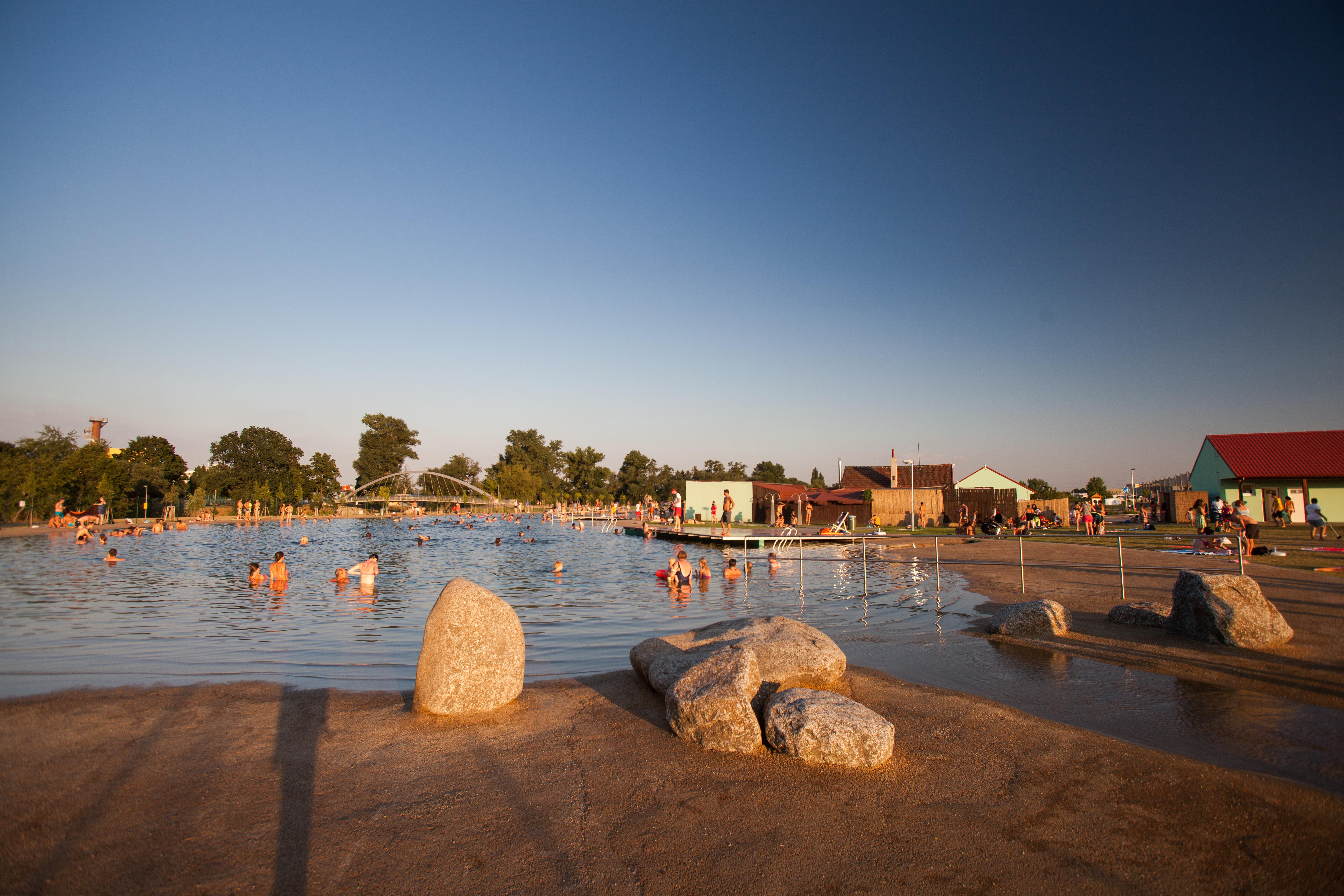 Brno Jih Natural Swimming Pool Prirodni Koupaci Biotop Brno Jih
