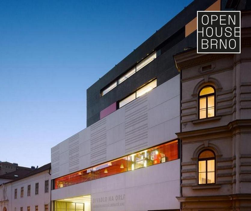 Open House Brno - Divadlo na Orlí / Hudebně-dramatická laboratoř
