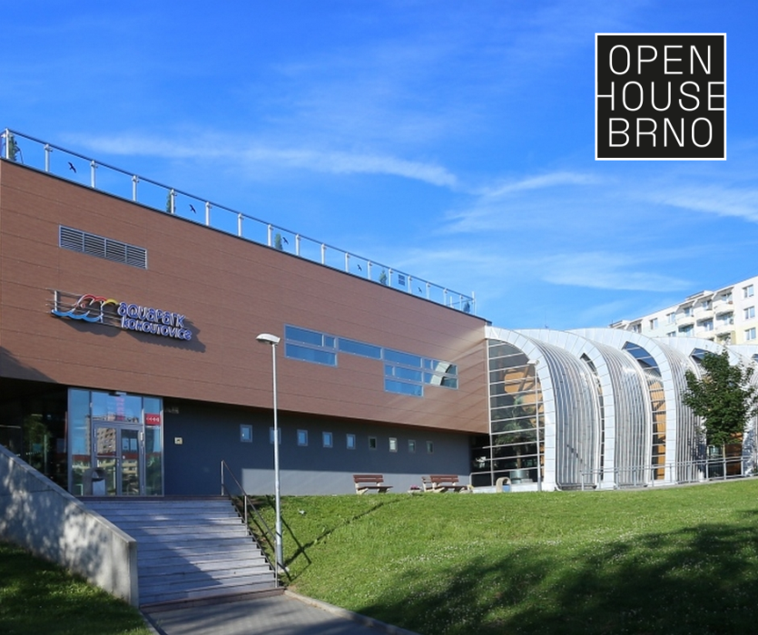 Open House Brno - Aquapark Kohoutovice