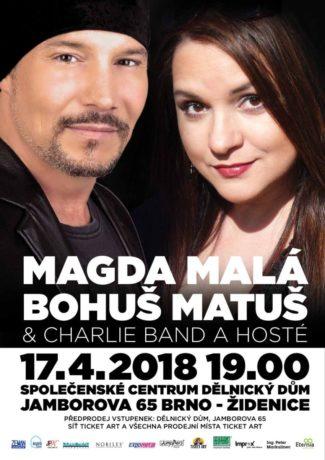 Cesta muzikálem: Magda Malá Bohuš Matuš