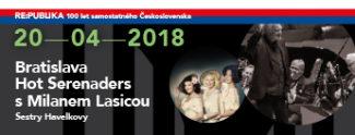 Bratislava Hot Serenaders s M. Lasicou a Sestry Havelkovy