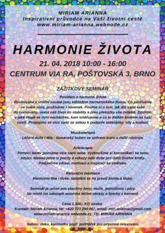 Harmonie života