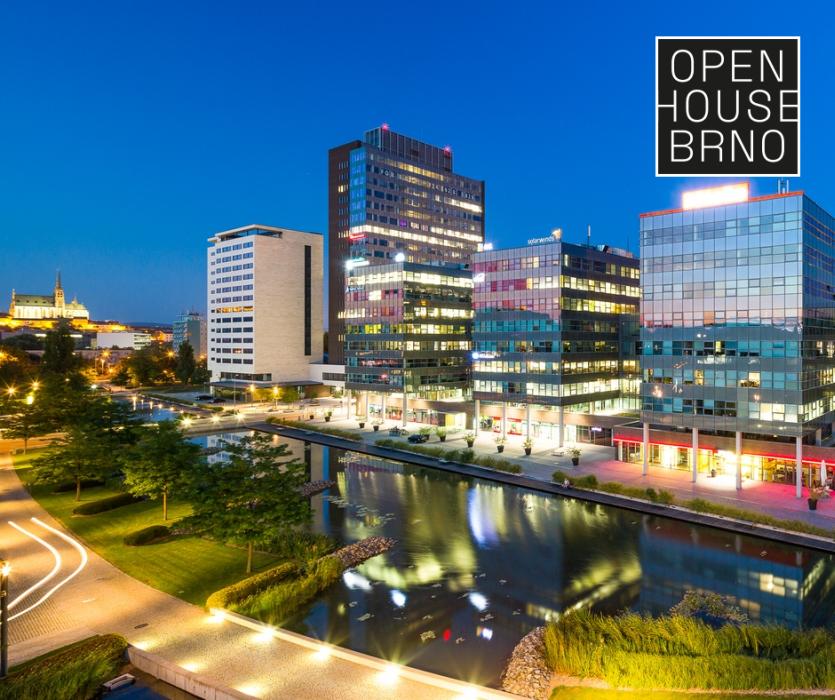 Open House Brno - Spielberk Office Centre