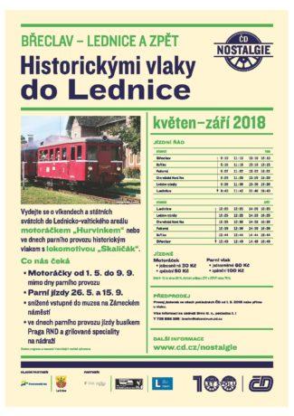 Historickými vlaky na výlet do Lednice