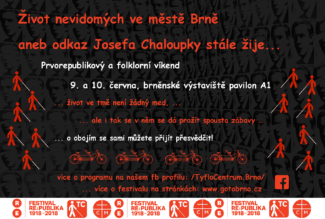 Tyflocentrum - plakát RE:PUBLIKA